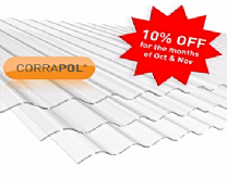 Corrugated Polycarb Roofing